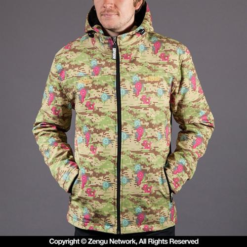 Scramble Scramble x Commes Des Grappler Flower Camo Jacket